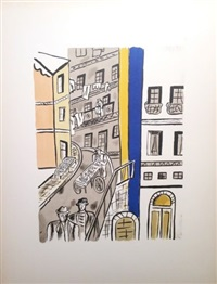 la rue, from la ville series by fernand léger