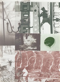 american pewter with burroughs ii by robert rauschenberg