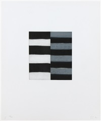 seven mirrors (5) by sean scully
