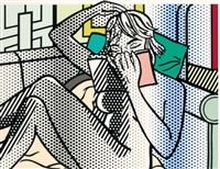 nude reading (c. 288) by roy lichtenstein