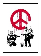 cnd soldiers by banksy