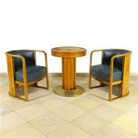 sitting room suite by josef hoffmann