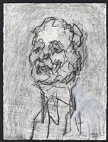 self portrait by frank auerbach