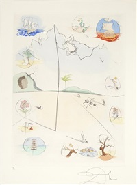 the twelve tribes of israel by salvador dalí