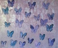 untitled butterflies by hunt slonem