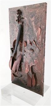 violon fossile (fossil violin) by arman