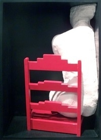 girl on a chair by george segal