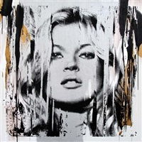kate moss #1 by mr. brainwash