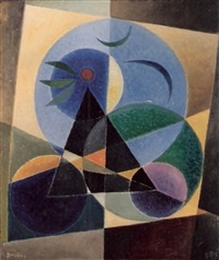 black triangle by werner drewes