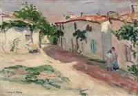 rue de village 1904 (1901) by albert marquet