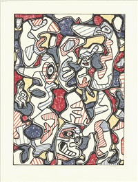 lot 217: saturday afternoon (samedi tantot), signed by jean dubuffet