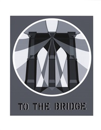 lot 264: to the bridge (brooklyn bridge) by robert indiana