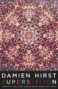 rare posters- from the 1950s to date by damien hirst