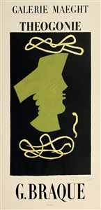 rare posters- from the 1950s to date by georges braque