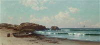 afternoon by the ocean by alfred thompson bricher