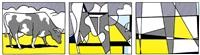 tryptichon by roy lichtenstein