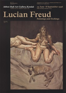 rare posters- from the 1950s to date by lucian freud