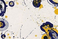 untitled (from the pasadena box portfolio) by sam francis