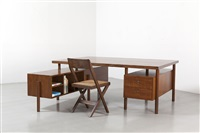 bureau démontable / demountable desk by pierre jeanneret