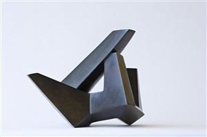 gestürzte balken (kristallinische form) by karl hartung