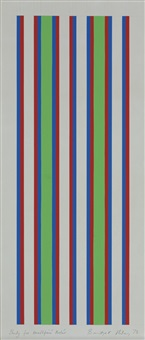 study for arnolfini poster by bridget riley