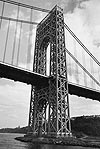 george washington bridge, new york by andreas feininger