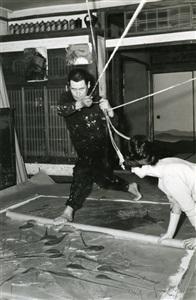 kazuo and fujiko shiraga by kazuo shiraga