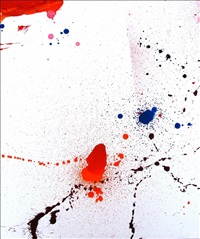 without title by sam francis