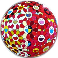 flowerball 3-d magic flute by takashi murakami