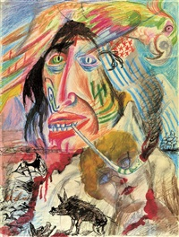 wildwest by otto dix