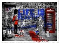 artwork by mr. brainwash