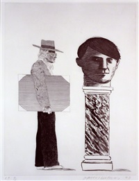 the student by david hockney