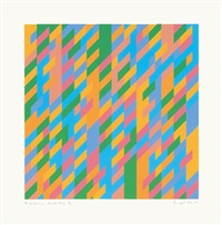 to midsummer by bridget riley