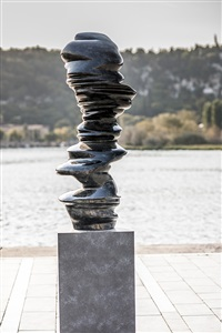 black diabas by tony cragg