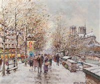 notre dame by antoine blanchard