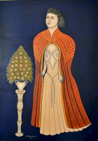 opera girl by morris hirshfield