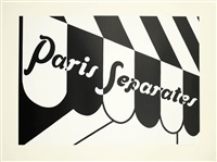 paris separates by patrick caulfield