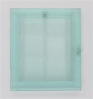 window turquoise by lisa bartleson