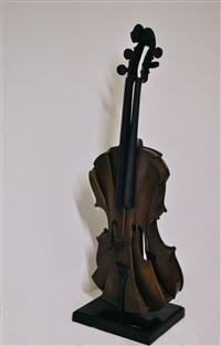 violon coupé iii by arman