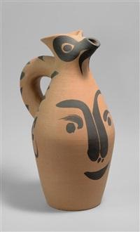 yan visage (a.r. 512) by pablo picasso