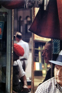 reflection by saul leiter