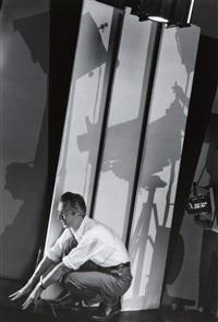 self portrait with photographic by edward steichen