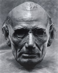 life mask of abraham lincoln by edward steichen