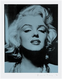 marilyn portrait ii by russell young