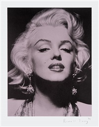 marilyn portrait iii by russell young