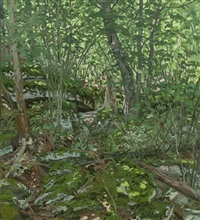 study for prospect by neil welliver