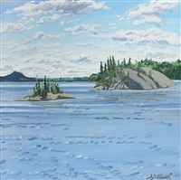 study for islands allagash by neil welliver