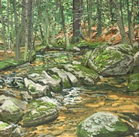 study for orange brook by neil welliver