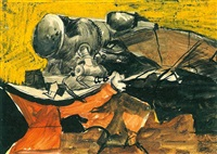 marshalling yards, trappes by graham sutherland