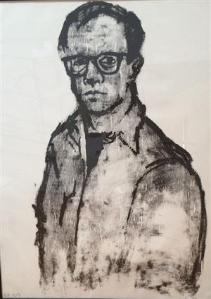 self portrait by william george beckman